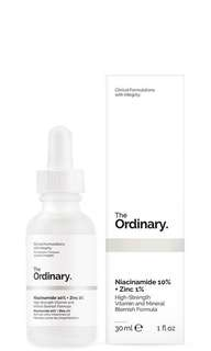 Open PO: The Ordinary Niacinamide 10% + Zinc 1%