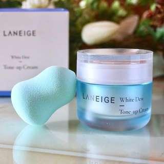 LANEIGE 水光亮白調色日霜 White Dew Tone-up Cream 50ml
