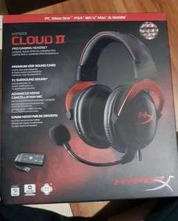 Headphone hyper cloud II