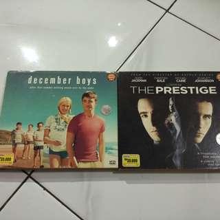 "DVD Original ""December Boys; The Prestige"""