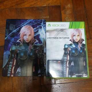 Xbox 360 limited edition lighting return FF13