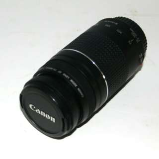 Canon EF 75-300mm zoom lens