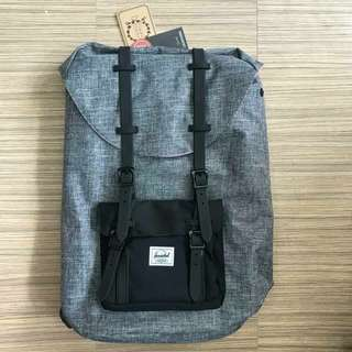 Herschel Backpack - Black and Grey