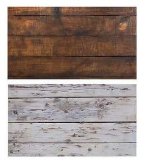 Wood Style Backdrop Paper Food Photography