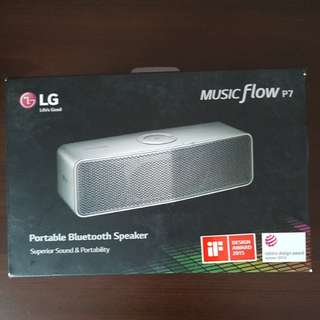 LG wireless bluetooth speakers