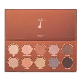 Zoeva Rose Golden Eyeshadow Palette 玫瑰金眼影盤
