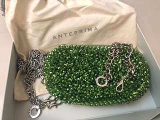 Anteprima wire bag 99% new with two chains