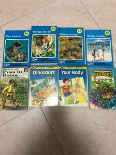 Old vintage ladybird books