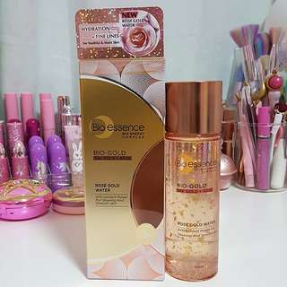 Bio Essence Bio-Gold 24K Rose Gold Water