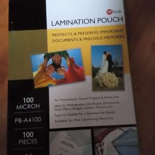 Lamination Pouch