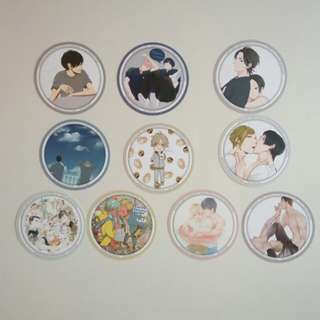 Animate cafe - Taiyoh Tosho X Gratte coaster