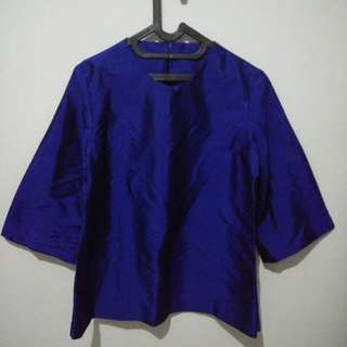Shangtung top blue