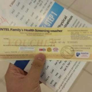 50% OFF full blood test voucher (PANTAI HOSPITAL)