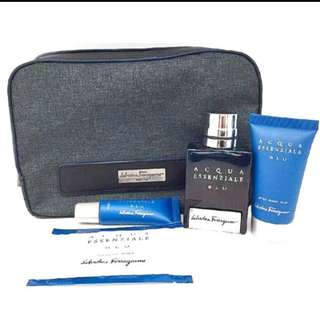 Exclusive SIA First Class Travel Kit