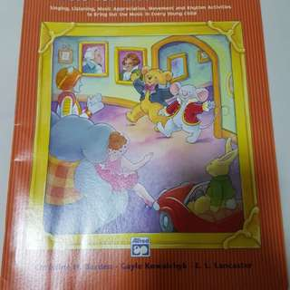 alfred's music for little mozarts music discovery book 1
