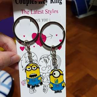 Minion Key Ring for Couples