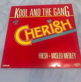 "Kool and the Gang - Cherish 12"" Single"