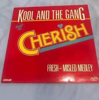 "Kool and the Gang - Cherish 12"" Single"