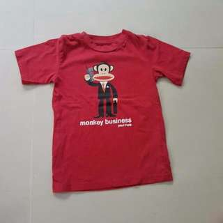 Kid's 3T Paul Frank Red T-Shirt, Kid's Clothes