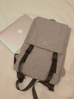 Anello Flap-Backpack (Gray)