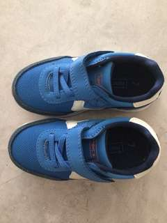 Next Toddler Shoes (Blue Heritage Runner Trainer )