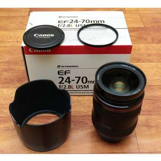 Canon 24-70mm F2.8 Fullbox Set