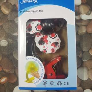 Anakku Portable Clip-on Fan #bajet20