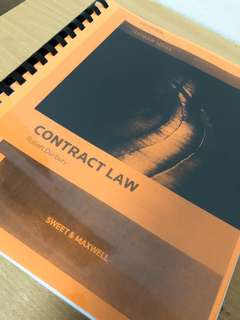 Contract Law by Robert Duxbury