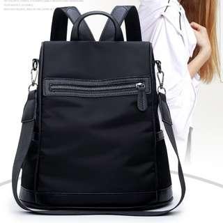 Nylon Backpack Anti Theft