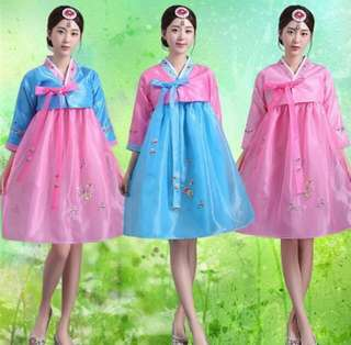 Korean Hanbok (Short Skirt)