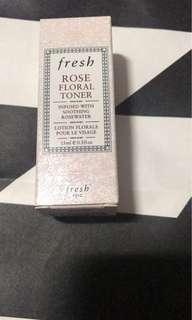 Fresh rose floral toner