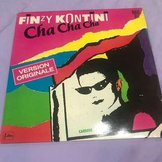 """Finzy Kontini - Cha Cha Cha 12"""" Single"""