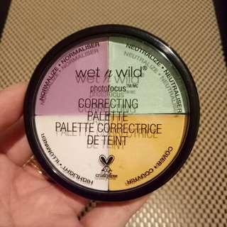 Wet n wild photofocus correcting palette