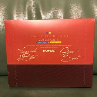 全新日本Royce Pure Chocolate 40塊
