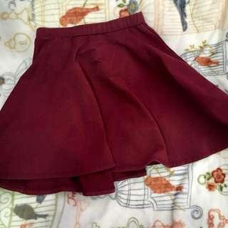 SALE! Maroon skirt