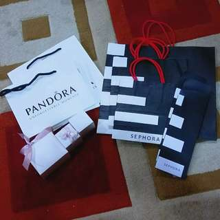 Sephora paper bags