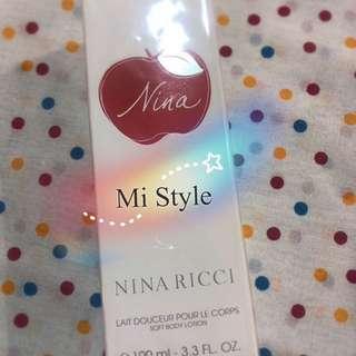 NINA RICCI Soft Body Lotion身體潤膚乳液 100ML