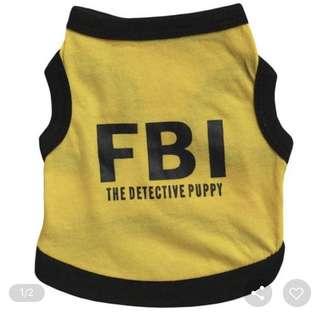 [LAST] FBI Pet Vest S size