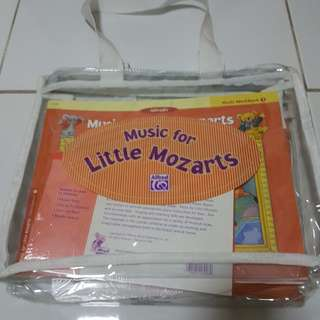 brand new set of music for little mozarts