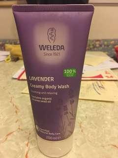 [Weleda] LAVENDER Creamy body wash