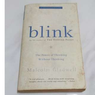 [Educational Book] Blink: The Power of Thinking Without Thinking