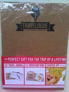 Travel journal w scratch map