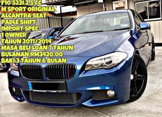 BMW F10 523 M SPORT SAMBUNG BAYAR