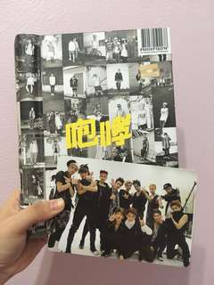 [Pre-loved] Exo Growl album - Chinese Version with Group photocard
