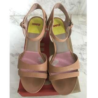 Preloved Camper Lila Medio Mid Heel Sandal