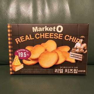 全新韓國Market O Real Cheese Chips 芝士薯片62g