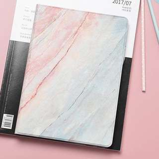 BN Instock Minimalistic Marble Effect iPad Cover