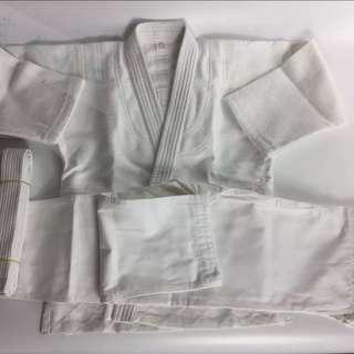 全新加厚judo柔道袍+褲+白帶一條(其他色帶另加$10) 柔道服