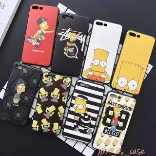 多款搞鬼表情圖案Simpson phone case