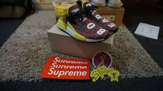 NMD Human Race Noble Ink + Supreme Stickers